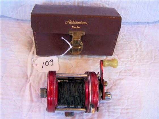 109: Ambassadeur Fishing Reel No. 6000