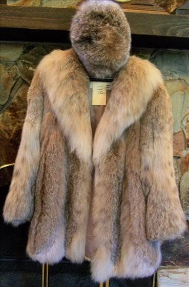 119: Burchay's Fur coat with hat