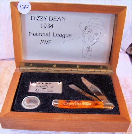 120: Dizzy Dean MVP Pocket Knife