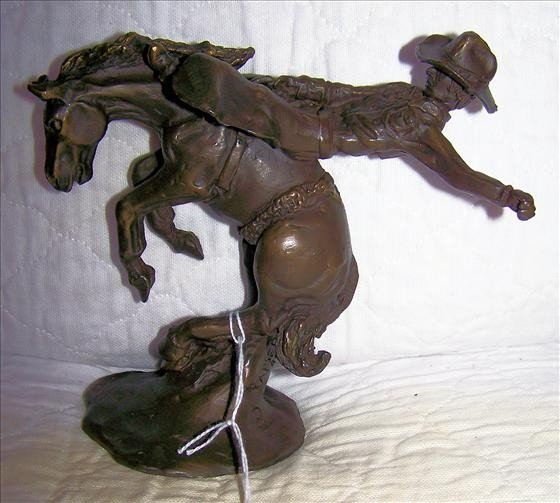 126: Bronze Cowboy - signed (Casper) 210 of 950 - 6""