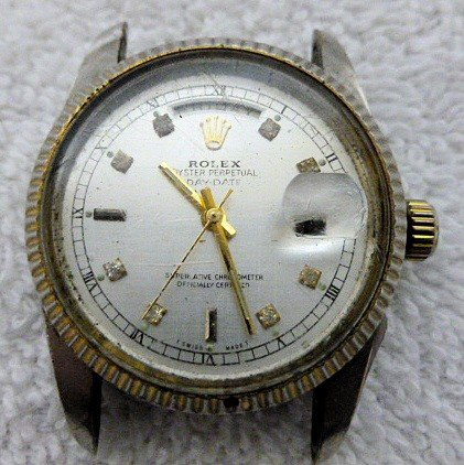 6508: Rolex watch ?? - no strap - Oyster Perpetual Day