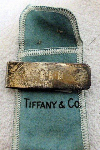 6509: Tiffany & Co. sterling money clip