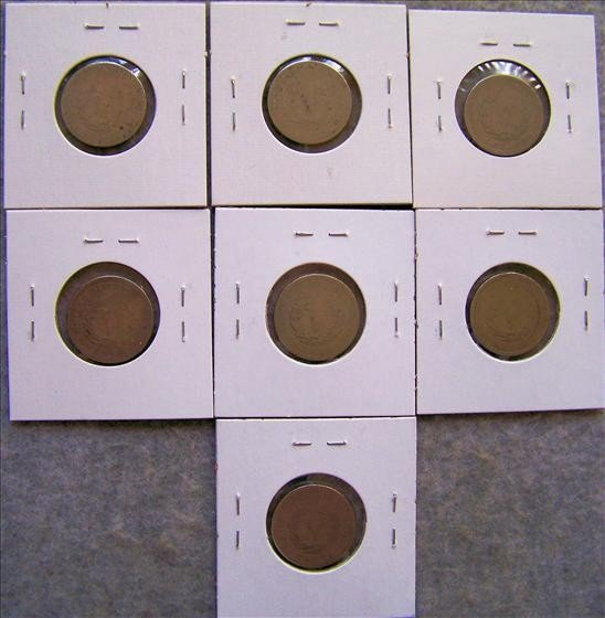 6582: 7 Liberty Head Nickels - 2