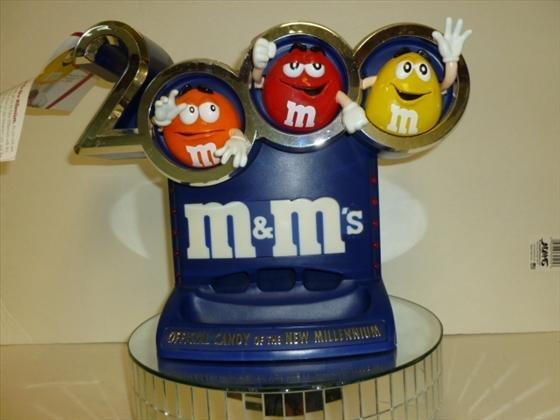 M & M Official New Millennium dispenser