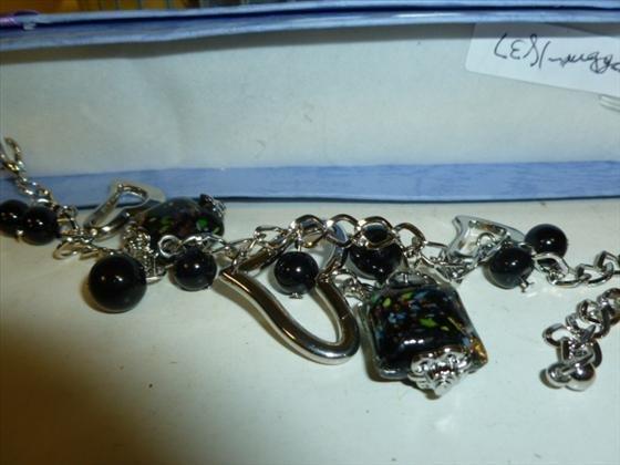 1837: Murano glass bracelet in box