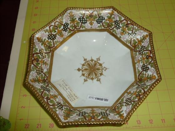 RC Nippon octagonal shaped bowl