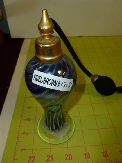 Murano glass perfume atomizer