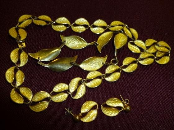 David Anderson Norway Gold over Sterling necklace
