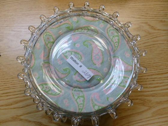 "6 Heisey Lariat salad plates-7 1/2"""