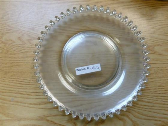 10 Candlewick salad plates