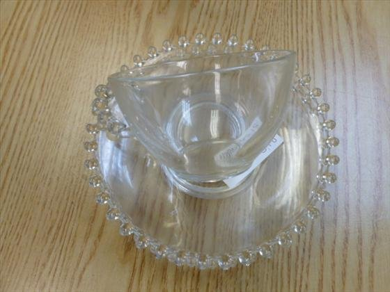 26 pc Candle wick cups and saucer