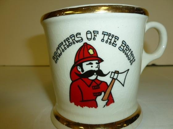 Mustache cup- Brothers of the Brush