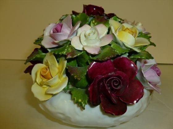 Large Bone China flower bowl