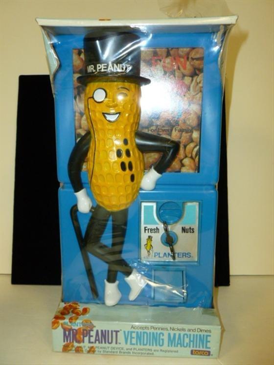 Mr. Peanut Vending machine