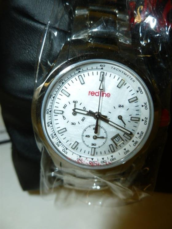 Redline Watch new with box & papers