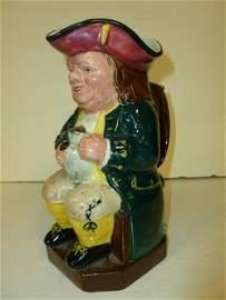Ridgway English character Toby jug-1940's