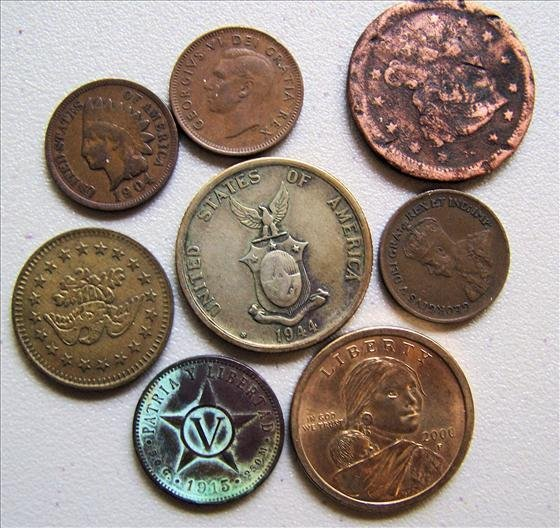 Lot Misc. Coins and Tokens