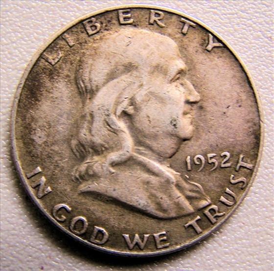 1952D Franklin Half Dollar