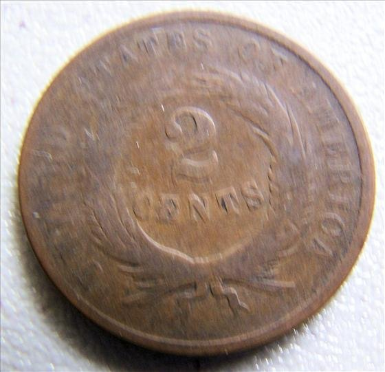 1867 2 Cent Piece