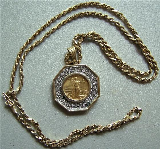American Eagle Gold Bullion $5 Coin