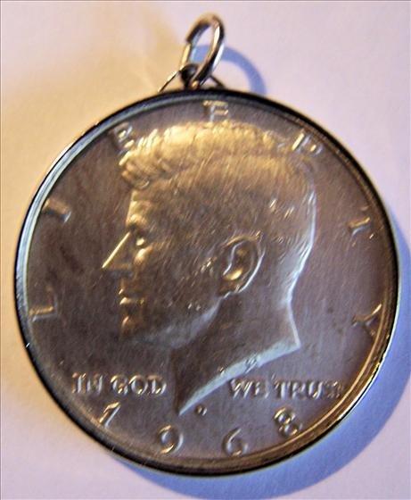 1968D 40% Silver Kennedy Half Dollar