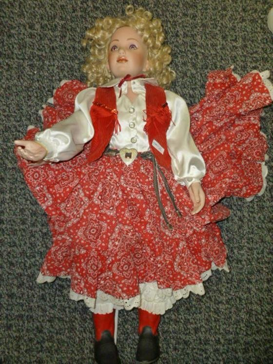 Cow girl doll- 1992- signed