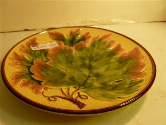 Majolica plate made in Germany - Zell #176