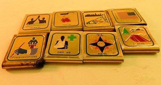 8 Boy Scout belt covers