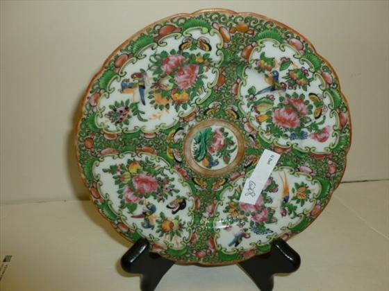 Chinese plate with stand