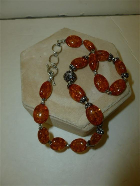 Amber necklace - 16 long
