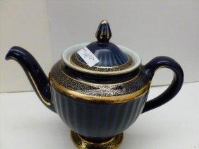 Hall teapot cobalt blue
