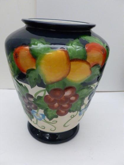Hand - painted porcelain vase