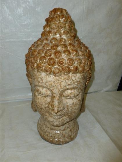 Stone Taibei Buddha head for inside or outside