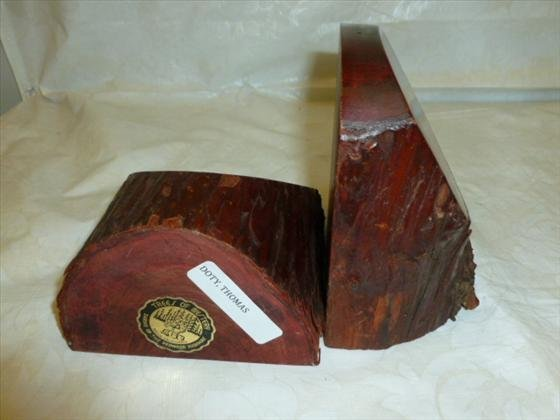 Pair bookends- From tree of mystery Shrine