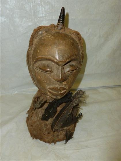 Songye Power Figure wood and mixed media Zaire