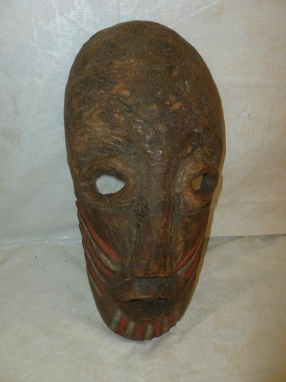 Wood carved mask- Dan Tribe Guese Mask