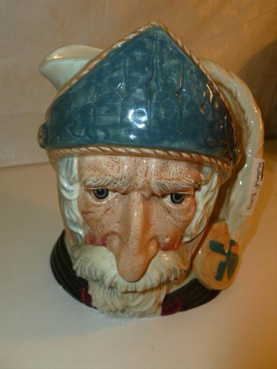 Royal Doulton large Character Toby jug- Don Quixote D6-