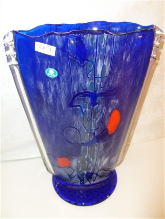 Art glass vase by Barovier  & Tosco Czech  glass