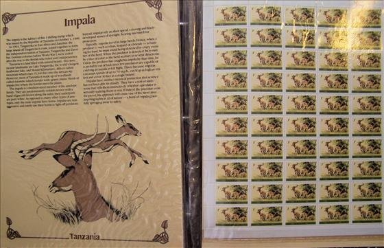 Wildlife of the world Mint Sheet Stamps