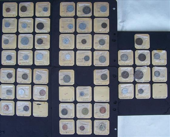 Lot of 50 + Foreign Coins