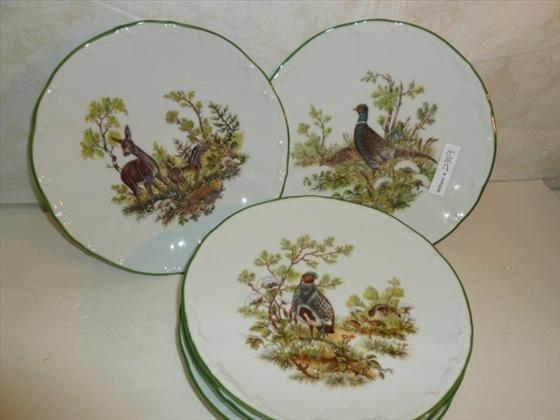 6 plates Meiselmand Bavaria Germany M101