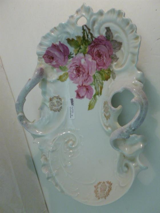 Hand painted porcelain Austrian table dish