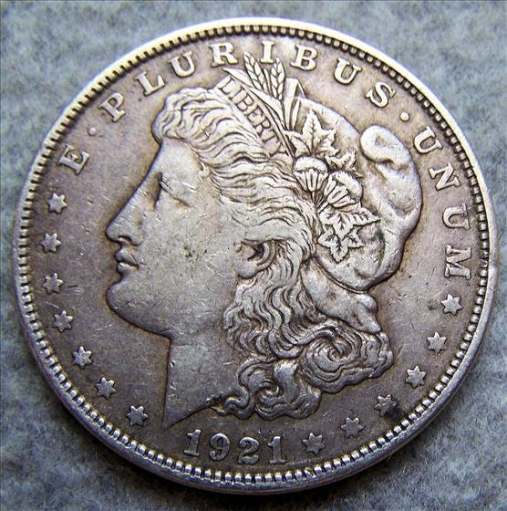 1921 Morgan Sliver Dollar