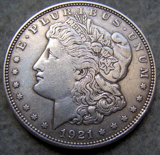 1921D Morgan Sliver Dollar