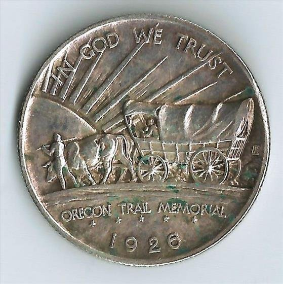 1926S Oregon Trail Memorial Half Dollar