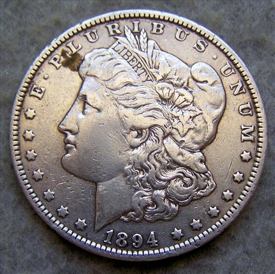 1894O Morgan Sliver Dollar