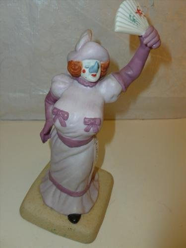 Bisque porcelain figurine by Roger Brown--Betty The