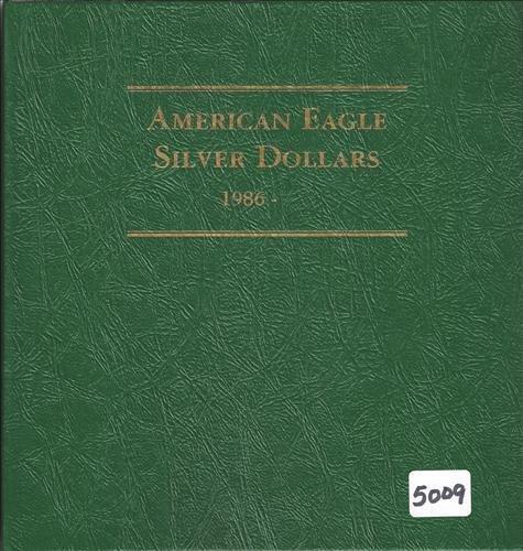 American Eagle Silver Dollar Album