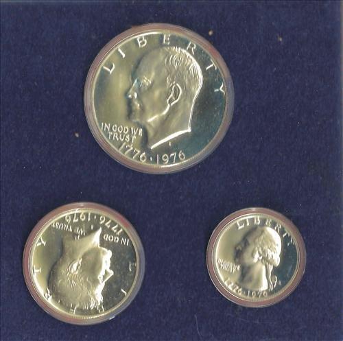 1976 40% Silver Bicentennial Proof Set