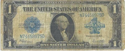 Series of 1923 Large $1 Silver Certificate